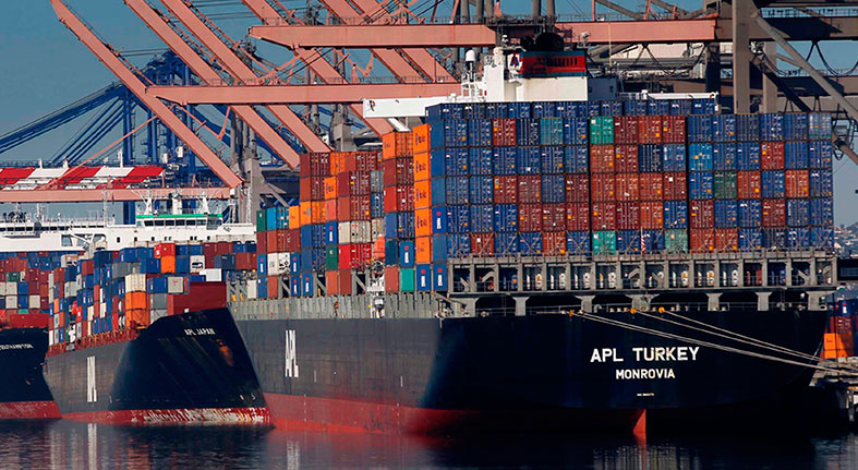 Import prices in the US fall in December for the second